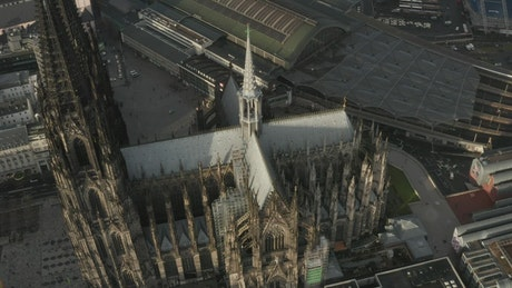 Architectural design of a cathedral in Berlin