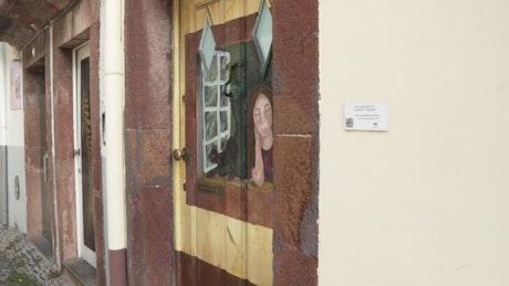 Art in the door