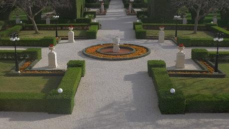 Bahai Gardens in Israel