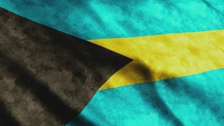 Bahamas render flag