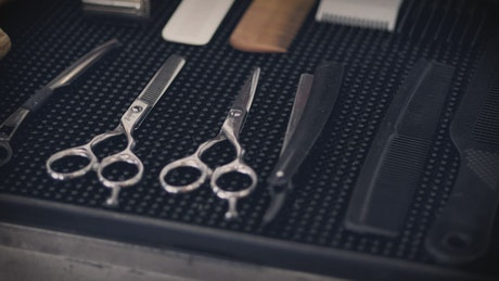 Barber equipment