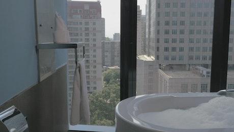 Bath full of bubbles