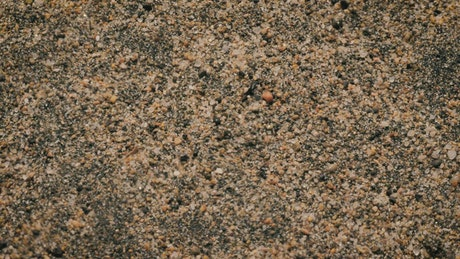 Beach sand, close up