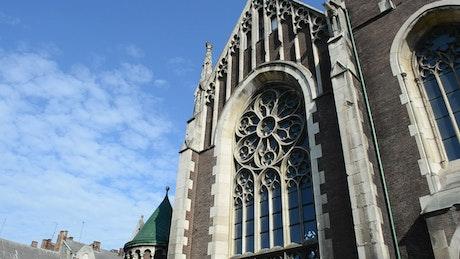 Beautiful architecture in Lviv