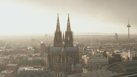 Beautiful cathedral in the stunning German city