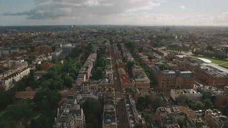 Beautiful cityscape of Amsterdam
