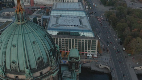 Berlin Cathedral from the air