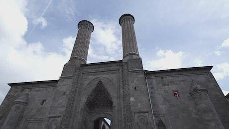 Blue sky over a Mosque
