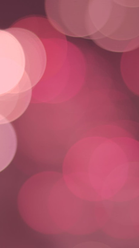 Blurred pink circular lights