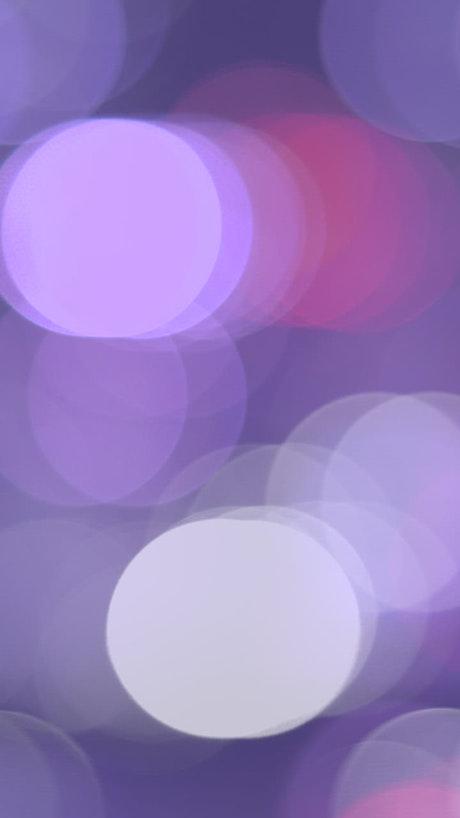 Blurred purple lights bokeh