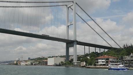 Bridge view from below