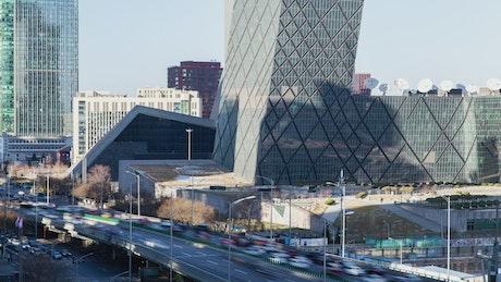 Business area in Beijing
