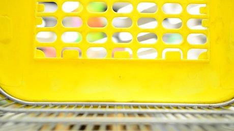 Camera in a shopping cart