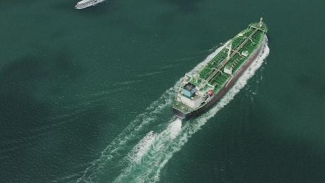 Cargo shipping lanes