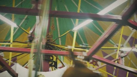 Carousel tent