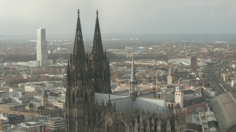 Cathedral in a European city