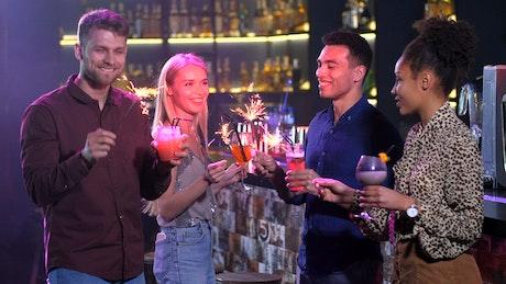 Celebrating New Year's Eve