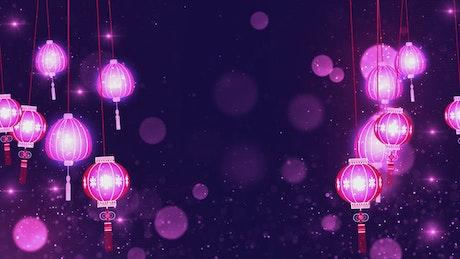 Chinese Lantern Hanging Lights, background