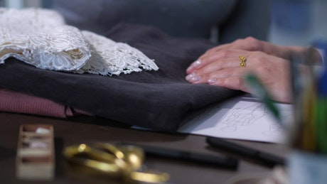 Choosing different fabrics for sewing