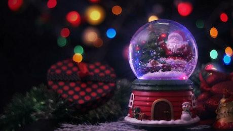 Christmas magic sphere