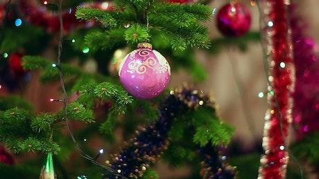 Christmas sphere decoration