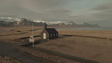 Church by the coast