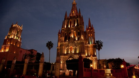 Church in the downtown of San Miguel de Allende