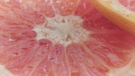 Citrus grapefruit slices