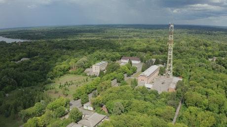City Hall in Chernobyl