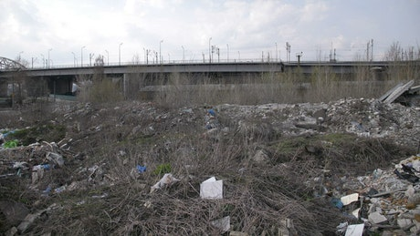 City landfill site
