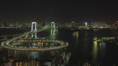 City of Tokyo at night
