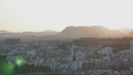 City skyline of Alicante