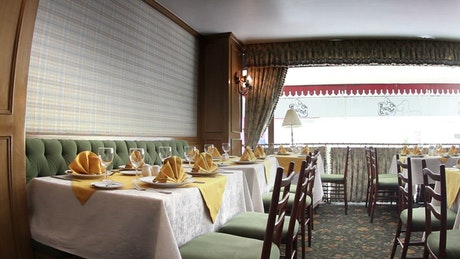 Classically styled restaurant