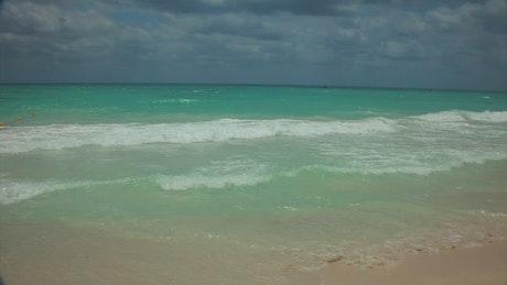 Clear ocean in Mexico