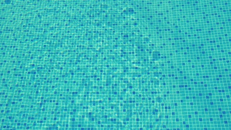 Clear pool water with a gentle ripple