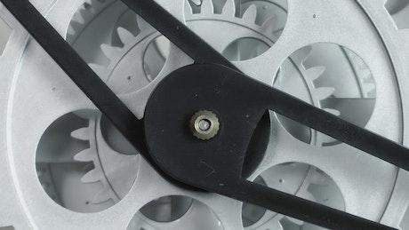 Clock machine working