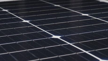 Close up of a solar panel device