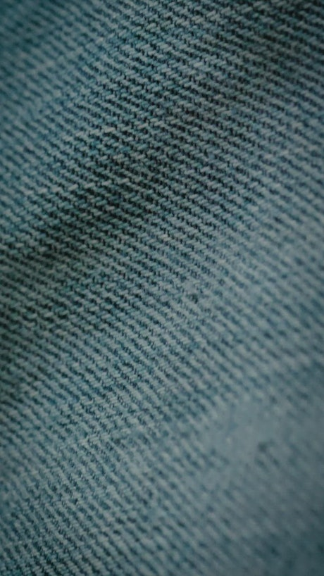 Close view of denim fabric texture