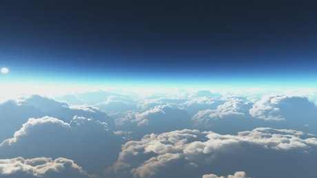 Clouds under the atmosphere