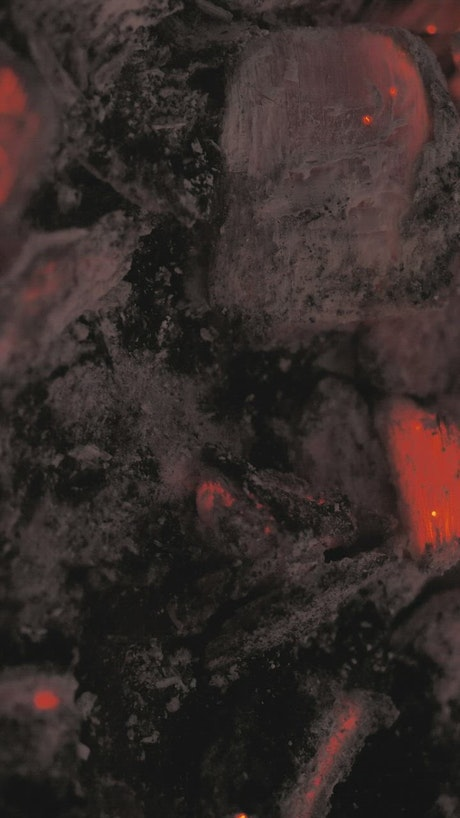 Coal consumed in fire