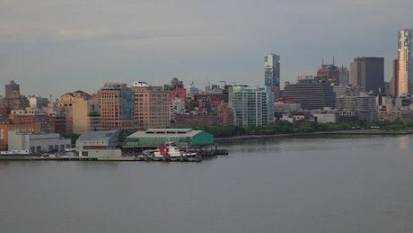 Coast Guard in Manhattan