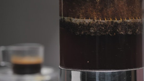 Coffee plunger French Press