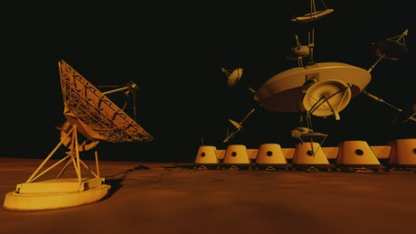 Communications technology on the surface of Mars