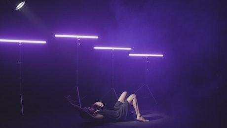 Conceptual video of contemporary dance
