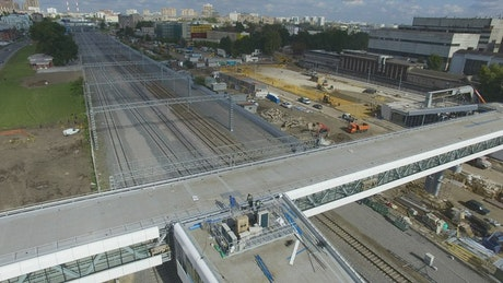 Construction of a new station