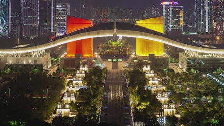Convention center in Shenzhen