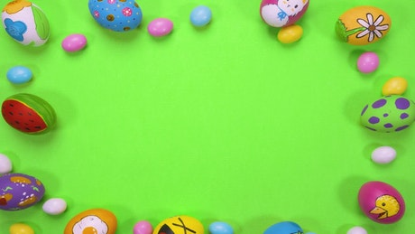 Cool Easter intro background