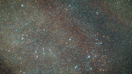Copious stars of the milky way seen in the distance