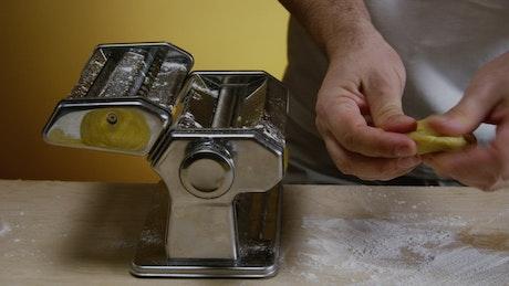 Creating pasta at home