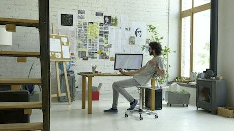 Creative on the studio